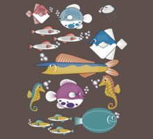 Happy Little Fishes Baby Tee