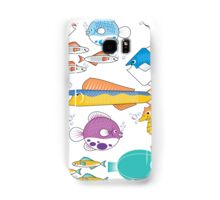 Happy Little Fishes Samsung Galaxy Case/Skin