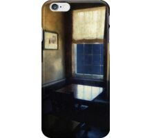 Table in Moonlight and Blue iPhone Case/Skin
