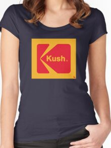 Kush The Instant Way... Women's Fitted Scoop T-Shirt