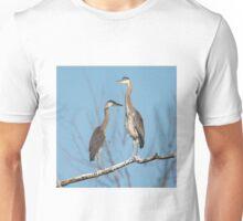 Heron Standoff Unisex T-Shirt