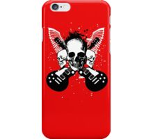 Skull and Guitars iPhone Case/Skin