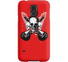 Skull and Guitars Samsung Galaxy Case/Skin