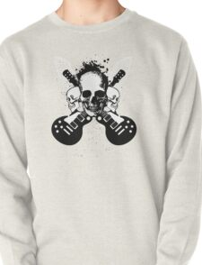Skull and Guitars Pullover
