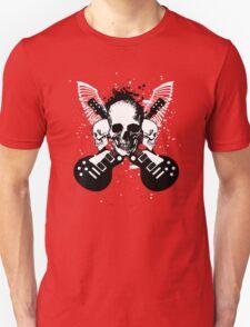 Skull and Guitars Unisex T-Shirt