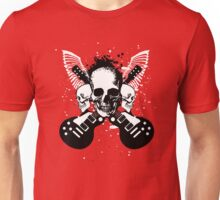 Skull and Guitars Unisex T-Shirt