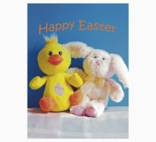Happy Easter Chick & Bunny Kids Clothes