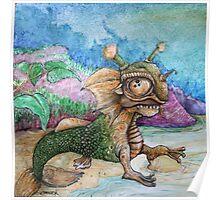 Sand Dragon Poster