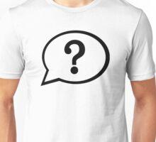 Speech bubble question mark Unisex T-Shirt