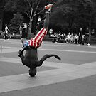 New York street performer by Kay-Trickpie