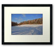One Cold Morning Framed Print