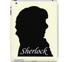 Sherlock Holmes. iPad Case/Skin