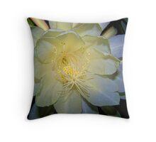 Moon Flower #2 Throw Pillow