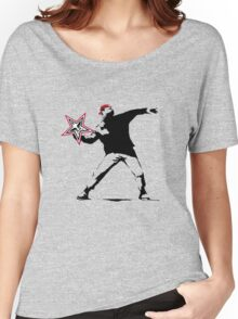 OBEY banksy! Women's Relaxed Fit T-Shirt