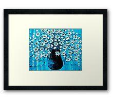 Ocean Blossoms Framed Print