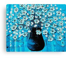 Ocean Blossoms Canvas Print