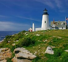 Pemaquid Lighthouse, Maine, USA by Daniel H Chui