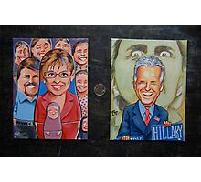 Palin Russian Doll, Biden trumps Hillary Photographic Print