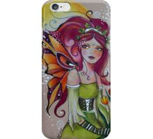 Spring Tulip Faery iPhone Case/Skin
