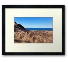 Sleeping Bear Dunes Overlook - Lake Michigan Framed Print