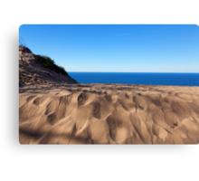 Sleeping Bear Dunes Overlook - Lake Michigan Canvas Print