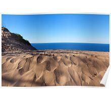 Sleeping Bear Dunes Overlook - Lake Michigan Poster