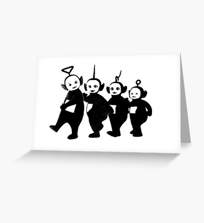 Teletubbies Greeting Card