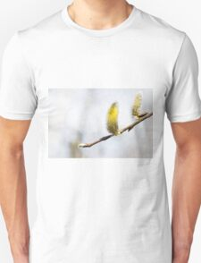 Willow Catkins - Silver World T-Shirt