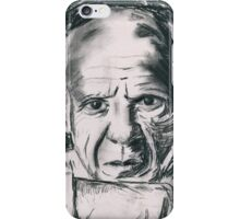 Pablo Picasso Charcoal Sketch iPhone Case/Skin
