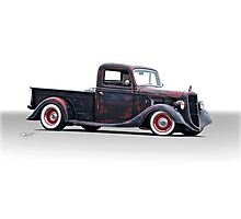 1936 Ford Pickup Truck Photographic Print