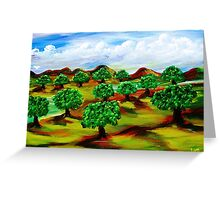 "Oko""s Orchard Greeting Card"