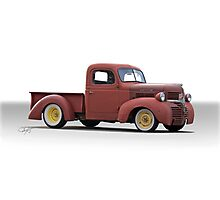1946 Dodge Pickup Truck Photographic Print