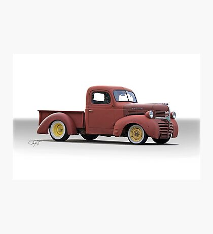 1946 Dodge Pickup Truck Photographic Print
