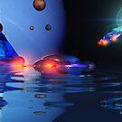 Galactic Harvesting by Steve Davis