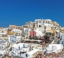 Living in Oia by Tom Gomez