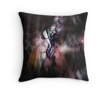 Emerging from the Depth Throw Pillow