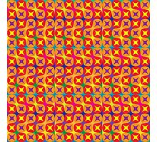 vibrant pattern in warm tones Photographic Print
