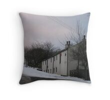 cottages at crowthorne Throw Pillow