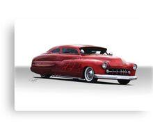 1950 Mercury Custom Coupe Canvas Print