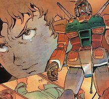 Mobile Suit Gundam by NerdyCatDesign