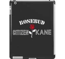 Citizen Kane - Rosebud iPad Case/Skin