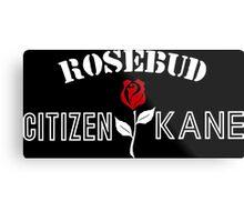 Citizen Kane - Rosebud Metal Print
