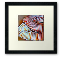 I Tip My Cup To You.. Framed Print