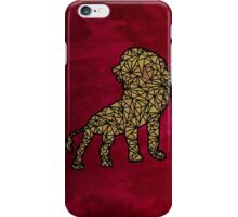 Geo-Lion iPhone Case/Skin