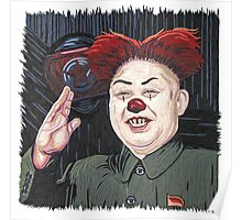 Kim Jong-Un Kiss Me Poster