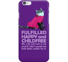 Childfree (light) iPhone Case/Skin
