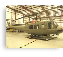 UH-1 Huey Helicopter Canvas Print