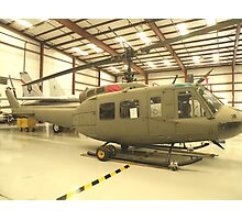 UH-1 Huey Helicopter Photographic Print