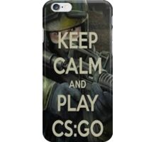 Keep Calm and Play Counter Strike: GO iPhone Case/Skin
