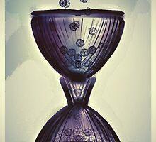 Tik Tok Clock Hour Glass by Dardei